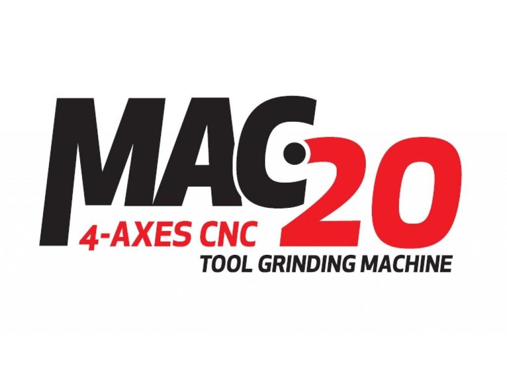 MAC 20 – 4 Axes CNC Tool Grinding Machine